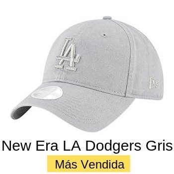New Era Los Angeles Dodgers Gris Precio $549.00